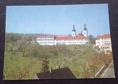 Postcard: Overall View Of The Strahov Monastery Complex: Un Posted