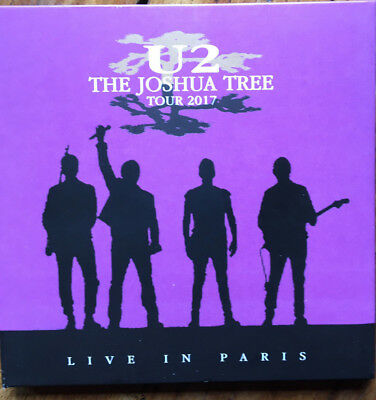 "U2 : ""Live In Paris 25th July 2017"" (Soundboard) (RARE 2 CD)"