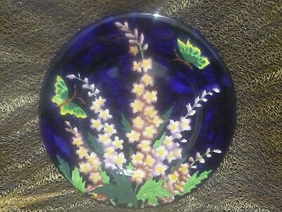 """Maling """"Delphinium"""" Charger Plate (c1932) - Pattern 6062"""