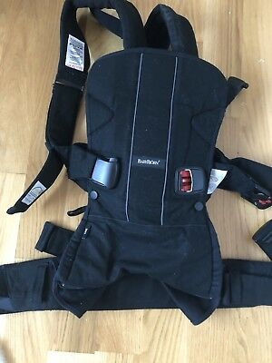 Baby Bjorn Carrier - Black - As New
