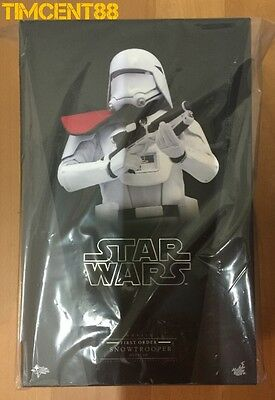 Ready! Hot Toys MMS322 Star Wars Force Awakens First Order Snowtrooper Officer