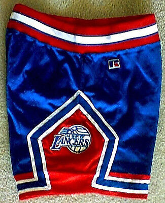 Vintage Cal Baptist Lancers Basketball Shorts Russell Athletic Sz 32 80s 90s USA