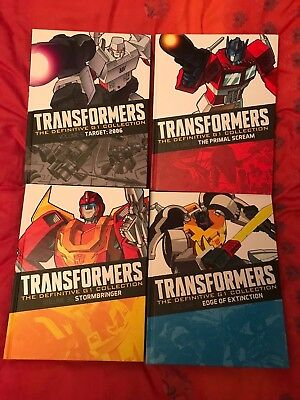 Transformers the Definitive G1 Collection Issues 1-4 (pre-release)