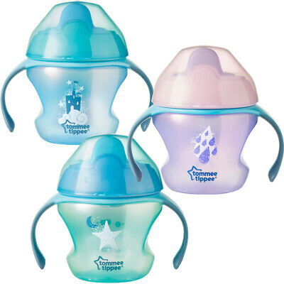Tommee Tippee Weaning Sippee Cup 4m+ CHOICE OF DESIGN BOY/GIRL (A104)