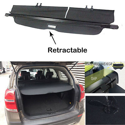 Alloy Trunk Upgrade Version Cargo Cover Blind for 2010- 2017 Chevrolet Equinox