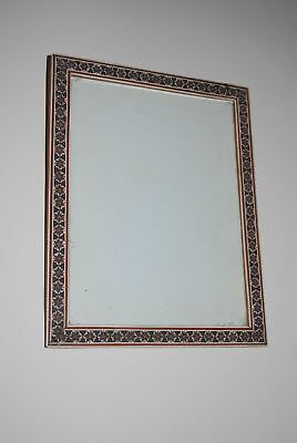 Antique Indian Persian Micro Mosaic Sadeli Frame 27cm x 21 cm (For 9x7 Picture)