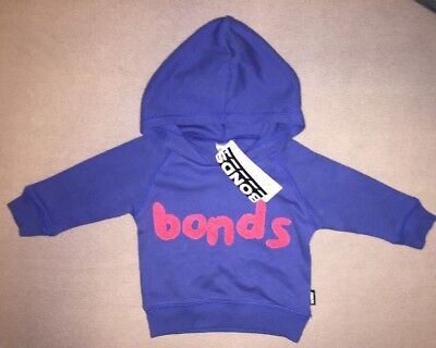 👾New With Tags 000 Bonds Baby Blue Hooded Jumper👾