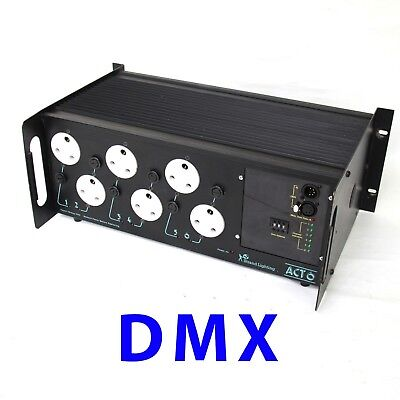 DMX dimmer Strand Act 6  stage lighting use with zero 88 etc ion pulsar mac 500