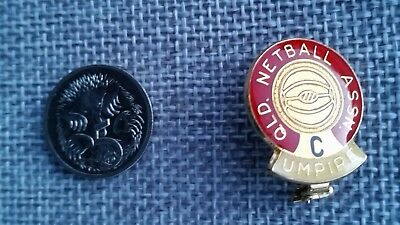 Queensland Netball Association Umpire Pin / Badge