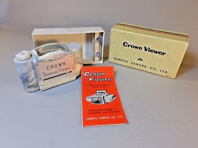 Vintage Collector's Crown ROMANCE SLIDE viewer - - MINT - WORKS