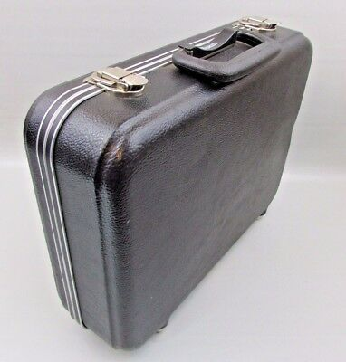 "VINTAGE PLATT HARD CASE camera tool 16"" x 13"" x 5"" empty interior"