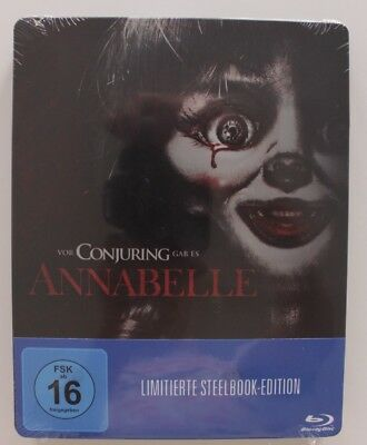 Annabelle Blu-ray Limited Steelbook Edition OVP