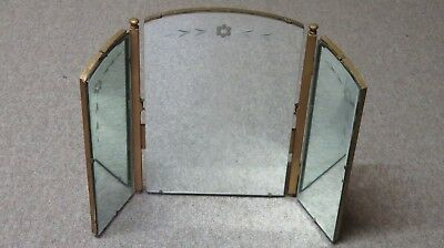 1940's Triple mirror for dressing table