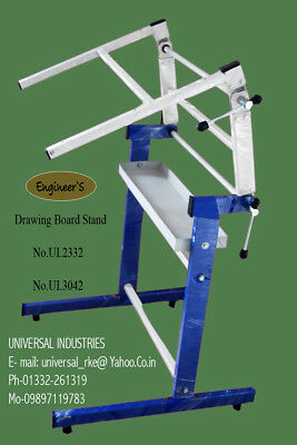 Metal Drafting Table Adjustable For Architecture, Draftsman, Engineer, Fashion