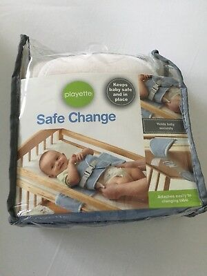 Safe Change For Babies On A Changing Table Cream BNIB