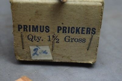 Vintage Primus Prickers And Spare Parts Old Tools
