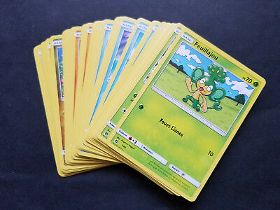 Lot complet 40/40 cartes pokemon Mac donald 2018