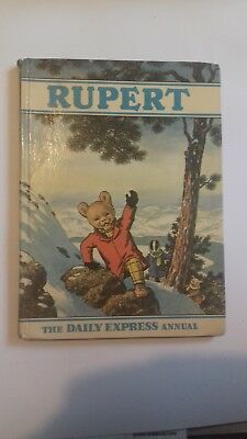 Rupert annual 1970 vintage collectable book Good condition