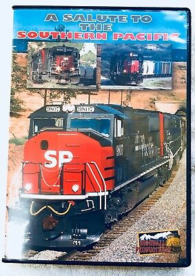Salute to Southern Pacific Tennessee and Cajon Pass Highball Train Video DVD 60m