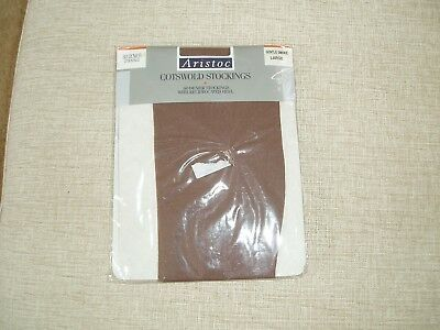 Sissy Vintage 60 Denier Cotswold Stockings Aristoc Natural Size Large