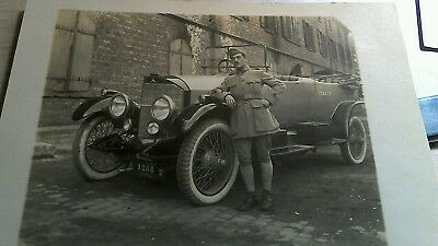 cpa photo voiture mercedes  vers1925