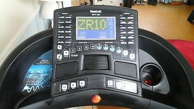 Reebok  ZR10 Treadmill Outdoor Training Workout keep fit gym exercise machine