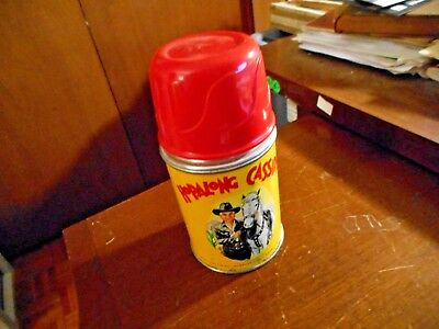 1950 Hopalong Cassidy Thermos Aladdin Industries, Inc Vg Condition
