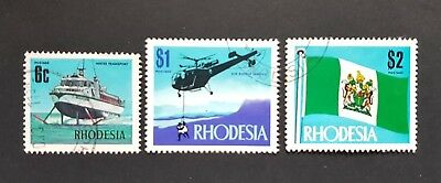 Rhodesia 1970 Industrial Development & Views of the Coutry Short Set Fine Used