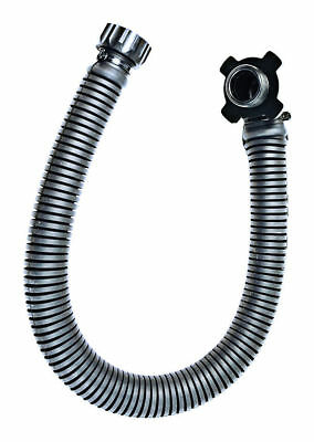2x RUBBER HOSE Black NEW GB Latex Gas Mask Tube Pipe 40mm 0.8m Made in UK Fetish