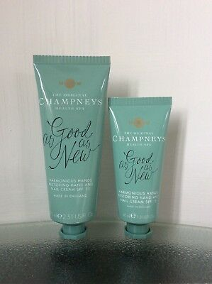 "Champneys - ""As Good As ..."" hand and nail care - 75ml + 40ml - foil sealed"