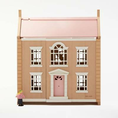 Leckford House Doll's House Mansion Wooden Toy Girls Play House By John Lewis
