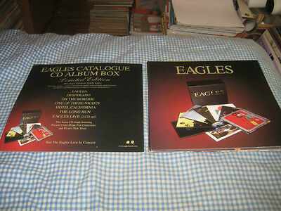 THE EAGLES-(limited edition)-1 POSTER FLAT-2 SIDED-12X12-NMINT-RARE