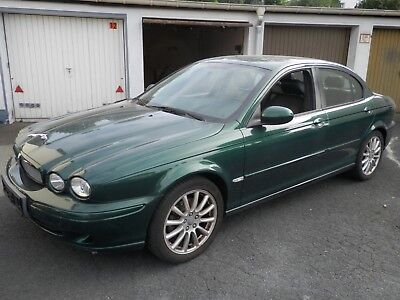 Jaguar X-Type 4x4 british racing green Tüv bis 09/19 4x4