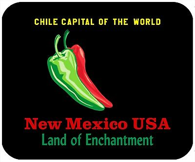 Mouse Pad Custom Thick Mousepad-New Mexico - License Plate Theme -Add Text