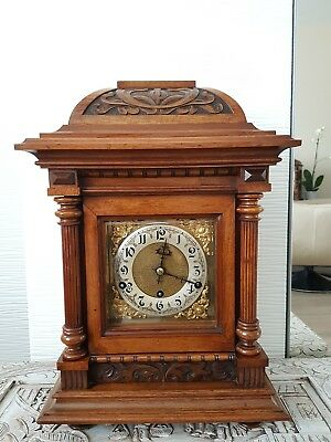 Antique German Kienzle 8 Day Bracket Clock with Westminster Chime approx. 1910