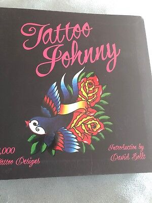 Tattoo Johnny Design Book By David Bollt