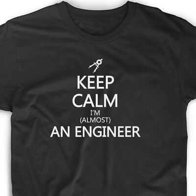 Keep Calm I'm An Engineer T Shirt Tee Funny Math Student Gift Funny Cool College