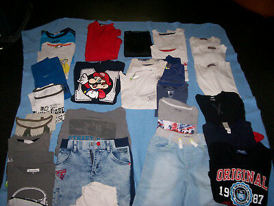 lot vetements garcon 8 ans ( 30 pieces )