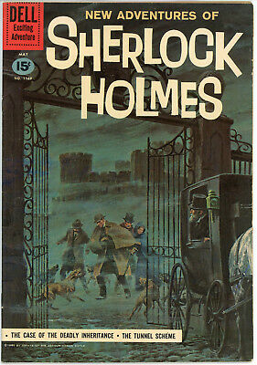 DELL Four Color # 1169 - New Adventures of SHERLOCK HOLMES VF/VF+ Beautiful!!!