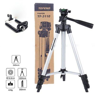 Universal Camera Camcorder Adjustable Tripod Stand Support for Canon Sony Fuji