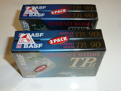 Basf Reference Maxima Tpii Top Precision 90 Cassette K7  Sealed Scelle