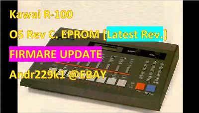 Kawai R-100 Rev. C Firmware Update Upgrade [Latest OS]