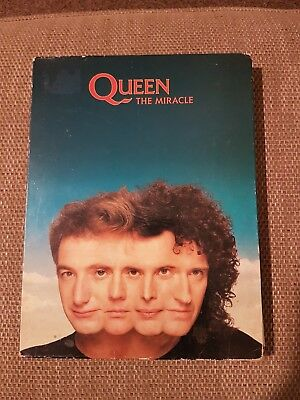 Queen The Miracle CD promo presentation box