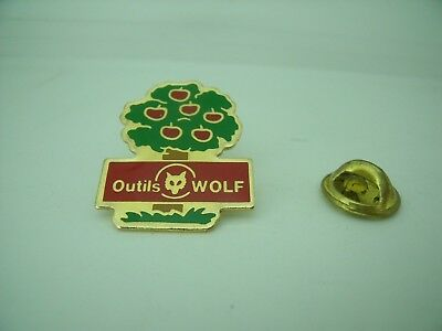 Pin's Pins Pin Badge OUTILS WOLF OUTILLAGE JARDINAGE TOOLS GARDENING TOP !
