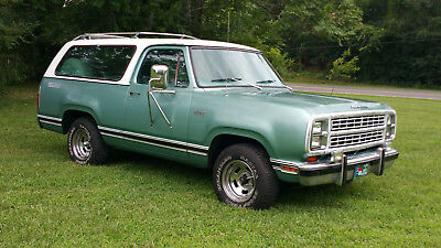 1979 Plymouth Other  Plymouth Trail Duster 1979  2 Wheel Drive