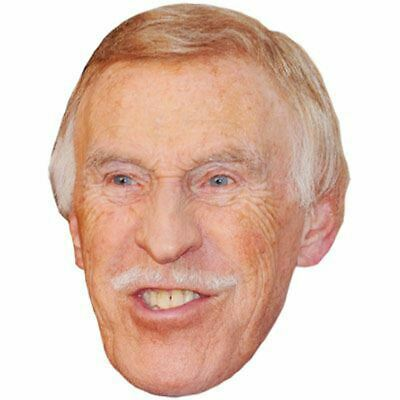 Bruce Forsyth Celebrity Mask, Card Face and Fancy Dress Mask