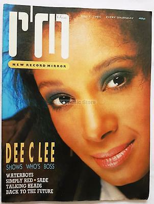 Waterboys Simply Red Sade Talking Heads  Dee C Lee   Record Mirror -