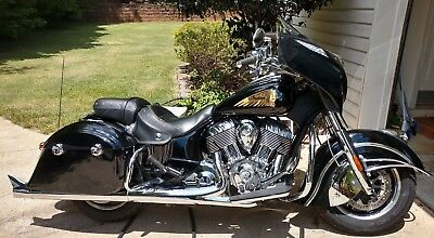 2016 Indian Chieftain  2016 Indian Chieftain, Black with chrome upgrades