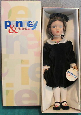 "2000 Robert Tonner Penney & Friends 19"" Vinyl Doll In Box~Excellent~W/Brush~Mint"