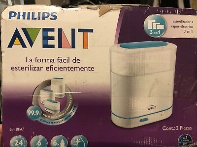 Philips AVENT 3-in-1 Electric Steam Sterilizer SCF284/05 - New (other)
